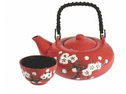 Tee-Set White Plum Blossom