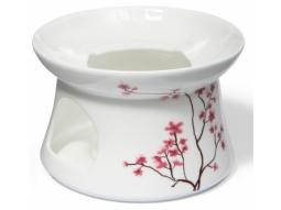 Kirschblüte Stövchen Fine Bone China