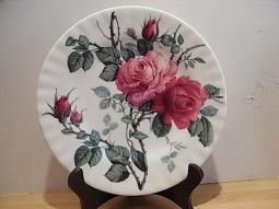 English Rose Dessertteller