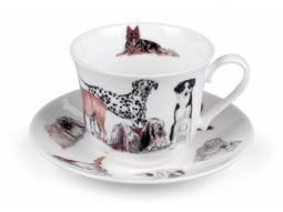Dogs Galore Jumbotasse Fine Bone China