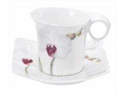 Teetasse Orchidee 4 Stück