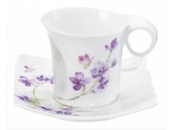 Teetasse Veilchen 4 Stück