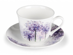 Alliums Jumbotasse Fine Bone China