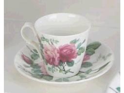 English Rose Espressotasse
