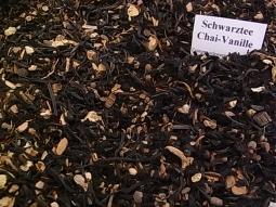 Schwarztee Chai mit Vanille