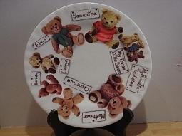 Favorite Teddy Dessertteller