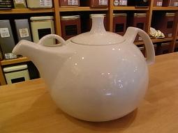 Teekanne Porzellan weiß 1,2l Sonderpreis