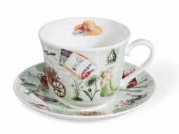 In the Garden Jumbotasse Fine Bone China