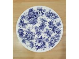 Engl.Chintz Blue Dessertteller Roy Ki..