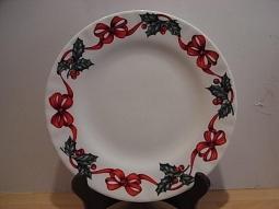 Christmas Ribbon Dessertteller Fine B..