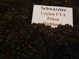 Schwarztee Ceylon,  UVA Pekoe Highlands
