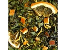 Weisser Tee Blutorange-Pefferminze nat..