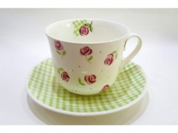 Eleanors Roses Fine Bone China