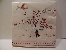 Serviette Kirschblüte