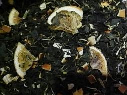 Weisser Tee Blutorange Pfefferminze