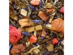 Weisser Tee Tanz der Beeren
