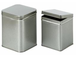 Teedose Silber