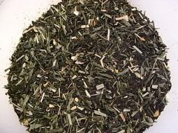 Schwarzer - Grüner Tee Zitrone