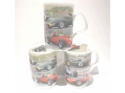 Racing Cars Henkelbecher Fine Bone China