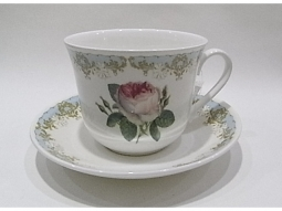 Vintage Rose Jumbotasse