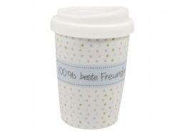 COFFEE TO GO 250ml 100% beste Freundin