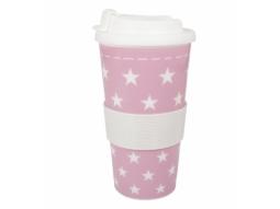 COFFEE TO GO Kunststoff 500ml Sterne r..