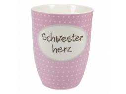 "Becher 500ml ""Schwesterherz"""
