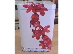 Teedose Orchidee