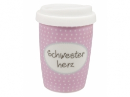 COFFEE TO GO 250ml Schwester Herz