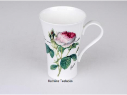 Becher Latte Redoute Rose Bone China