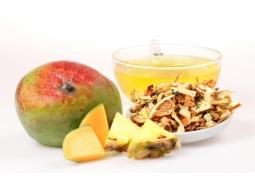 Früchtetee Mango Ananas mit Moringa 100g