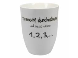 """Becher 500ml """"Tiiiiieeef durchatmen"""""""