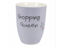 "Becher 500ml ""Shopping Queen"""