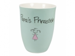 "Becher 500ml ""Papas Prinzessin"""