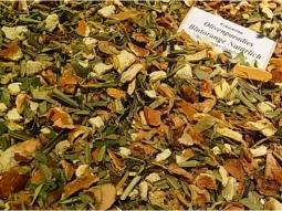 Olivenblatt-Tee Blutorange natürlich 1..