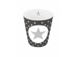 Mug Charcoal big star