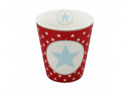 Mug Red big star