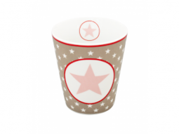 Mug Taupe big star