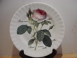 Redoute Rose Dessertteller
