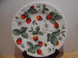 Alpine Strawberry Dessertteller