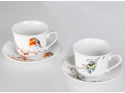 Blaumeise Jumbotasse Fine Bone China
