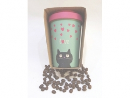 Kitty Love Bamboo-Cup 400ml
