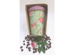 Vintage Roses Bamboo-Cup 400ml