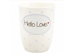 "Becher 500ml ""Hello Love"""