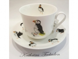 Puffin Parade Jumbotasse Fine Bone China