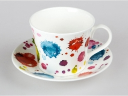 Lucy Splash Jumbotasse Fine Bone China