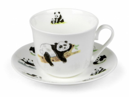 Jumbotasse Panda Fine Bone China
