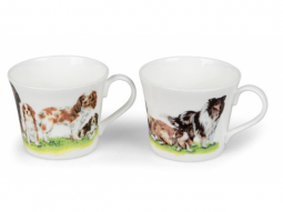 Cats oder Dogs Obertasse