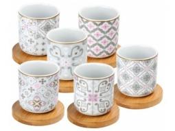 Porzellan espresso Cups 70ml mit ..