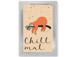"""""""Chill mal"""" Teepostkarte"""